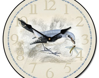 Bird & Bee Wall Clock