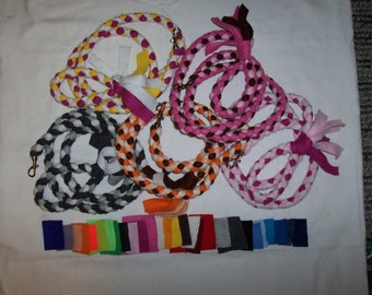 Braided Fleece Leash