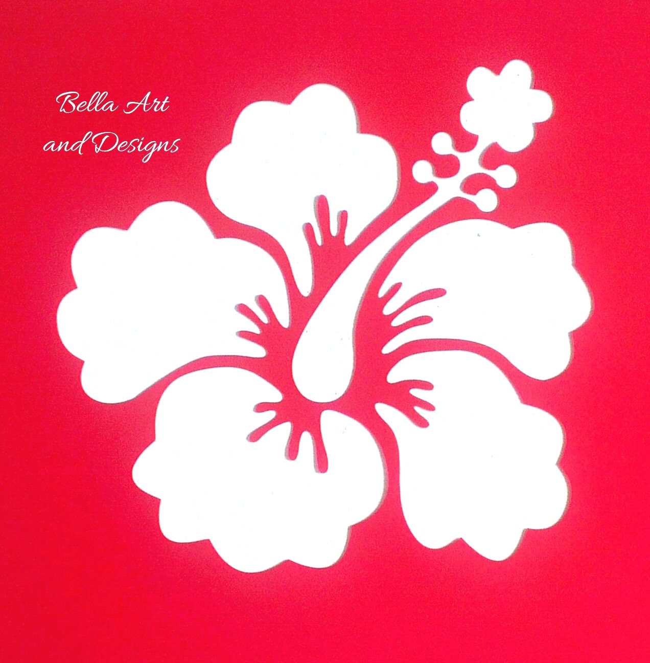 List 5 assorted hibiscus flower stencils price is per design 686 shipping izmirmasajfo