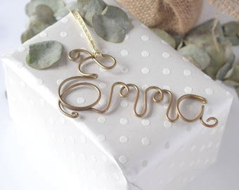 Gift Tag   Name Tag   Name Gift Tags   Birthday Name Tag   Christmas Gift Tags   Personalized Tags   Stocking Tags   Copper Gift Tag  