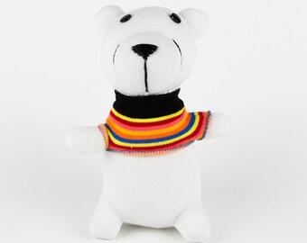 Christmas Gift Handmade Sock Bear Stuffed Animal Doll Baby Toys Children Birthday Gift