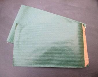 12 dark green gift bag * 20 cm * 1 set of 16 bags