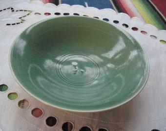Porcelain Bowl in Celedon