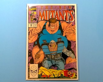 New Mutants 88 Comic Book, (Grade VF/NM) 1990, 2nd Appearance Cable, B3