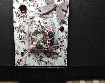 Art Card, Shaker Card, Home Decor