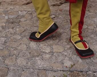 Landsknecht's shoes