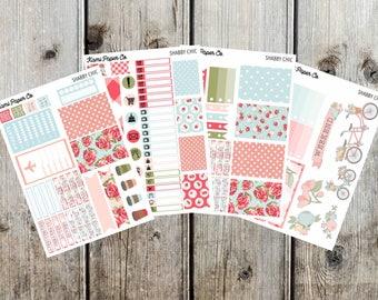 Shabby Chic Happy Planner Sticker Kit