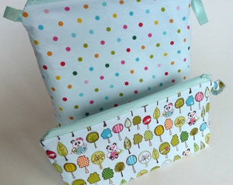 Useful Zippy Bag Case Pouch - PDF Sewing Pattern Download