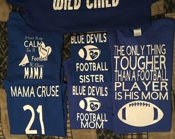 Custom Football T-Shirts