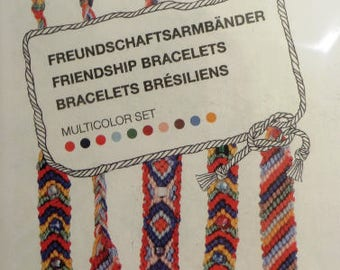 Kit for friendship bracelets, several different sets to choose from, with or without pearls