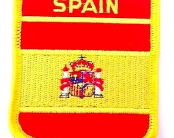 Spain Embroidered Patch