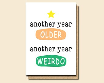 Funny Birthday Card, Birthday Card for him, Friend birthday Card, Birthday card boyfriend, Funny Birthday card for Friend, Card for Birthday