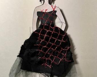 Tattered Ballerina Art Doll 3