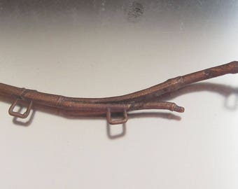 Copper Electroformed Twig for Jewelry Design