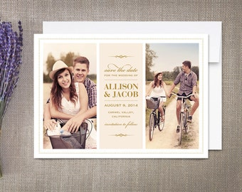 Save the Date Cards Love Story