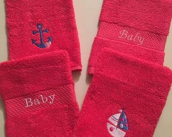 Baby Wash Mitts/Baby Bath - Set of 4