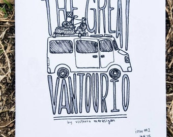 The Great Vantourio - issue 1