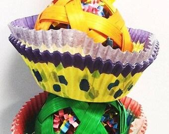 1083 2 Cane Cake Bird Toy