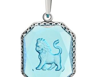 Pendant Lion,Vintage Jewelry,Unique Silver JewelryUnique Mysterious Jewelry,Unique Jewelry,Unique Handmade Jewelry,Trendy Jewelry,