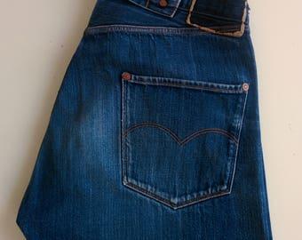 LEVI'S Vintage Mark Gonzales limited edition jeans - re-edition of N.1 Levi's vintage - made in USA