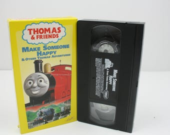 Thomas the Tank Engine & Friends - Make Someone Happy VHS TAPE