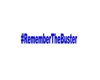 Remember The Buster Vinyl Decal Fast and Furious Paul Walker Sticker