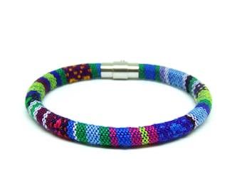Men's bracelet, Boho bracelet, Gift for Him, Tribal bracelet, Ethnic bracelet, Maya bracelet, Mens Jewelry, Tribal jewelry, African bracelet