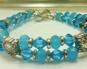 Sky Blue Waters Bracelet