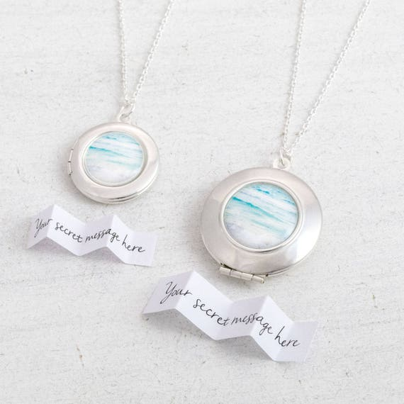 Personalised Ocean Locket