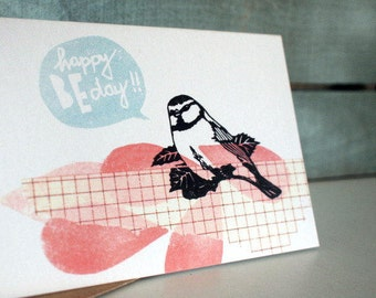 happy BE day - greeting card - A6 - 100% ECO recycled paper