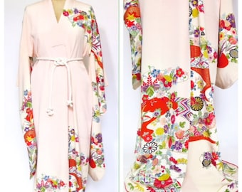 1950s Silk Kimono