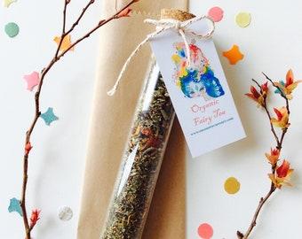 Fairy tea gift - organic tea, floral tea, tea lovers, tea gift, fairy tea party, loose leaf tea, gift idea, spring, Fairy party, tea favors