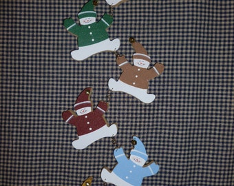 Personalized Family Snowmen set of 6