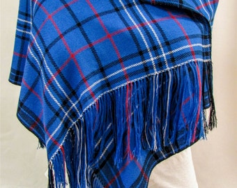 Pride of Norway themed Handwoven Scarf, Shawl, Wrap