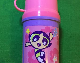 Vintage Power Puff Girls Thermos
