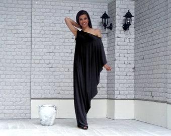 Maxi Dress, Plus Size Clothes, Loose Black Dresses, Tunic, Kaftan Dress, Black Dress, Dresses, Dresses for Woman, Plus Size Dress