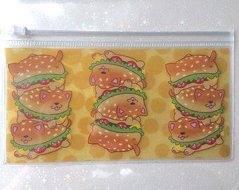 Cheeseburger Dogloaf Bag