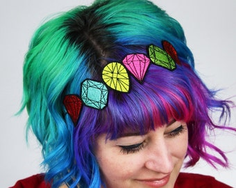 Gem Headband, Janine Basil for Sugar and Vice