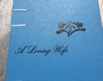 A Loving Wife Sky Blue Rebound Sketch Journal