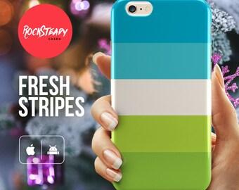 Stripey iPhone 7 case, iPhone 6 Plus case, iPhone 8, X Case stripes, stripey phone case, Samsung galaxy S8, s7, s6 Edge, s5 case