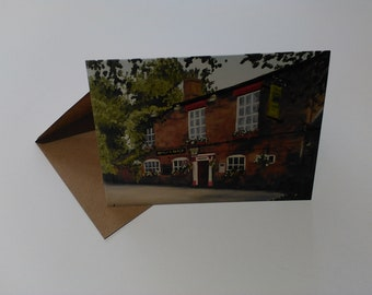 Bowling Green - Greeting Card with Envelope in Cellophane Wrapping