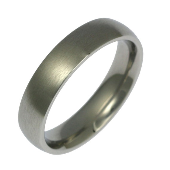 ring mens flat rings fit wedding comfort