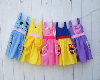 Princess Dress Collection, Cinderella dress, Snow White dress, Rapunzel dress, Belle dress, princess dress set, comfortable Princess Dresses