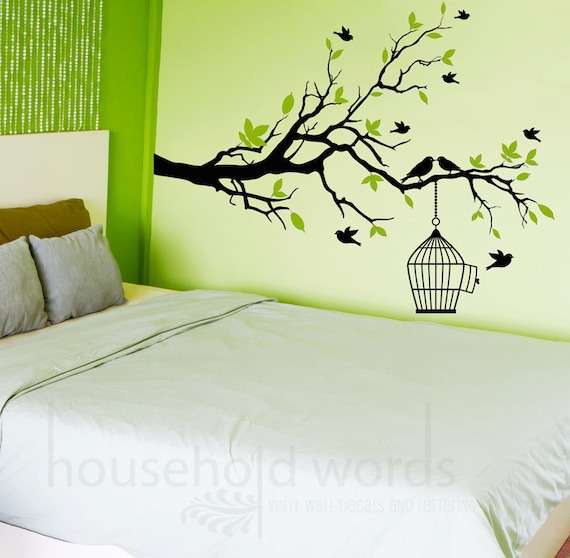 Items Similar To Self Adhesive Vinyl Wall Decal Tree