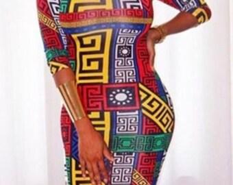 Fendi inspired Dress
