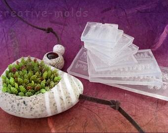 "Set of molds ""Moss""  + master-class (pdf)"