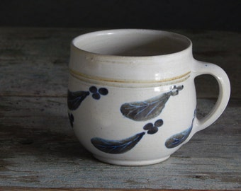 Scandinavian Vintage Mug Keramik Handmade Cup