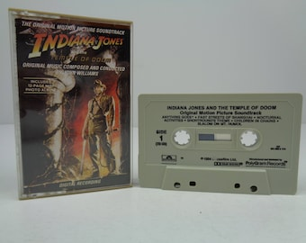 Indiana Jones and the Temple of Doom Cassette Soundtrack