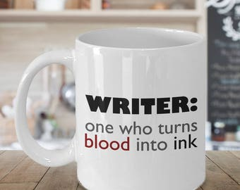 Gift for Author - Gift for Writer - Motivational Writer Mug  - Author Mug - Inspirational Saying for Writers - Birthday Gift for Writer