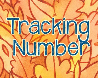 Add a tracking number